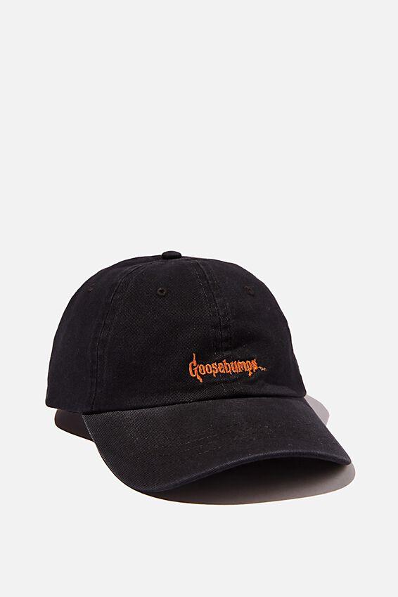 Special Edition Dad Hat, LCN SON BLACK/ORANGE/GOOSEBUMPS