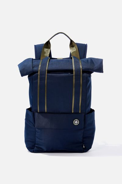 Escape Roll Top Backpack, TRUE NAVY