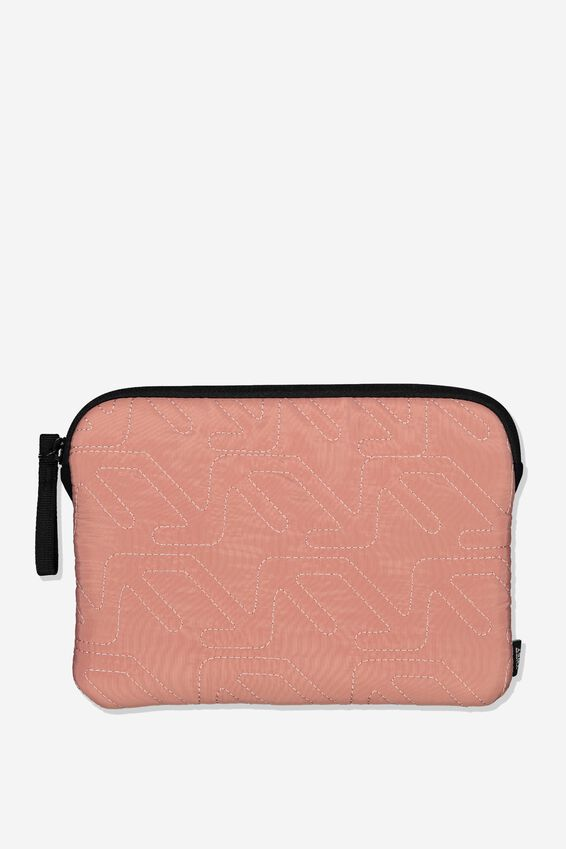9Inch Tech Case, BLUSH/QUILTING