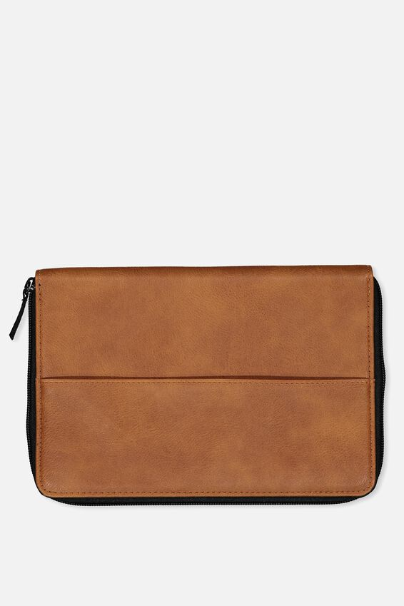 Family Travel Wallet, TAN