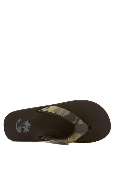 Colombo Sandal, BLACK/CAMO