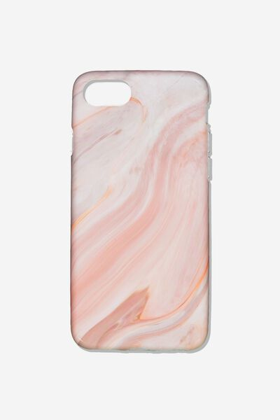 Essential Phone Cover Iphone 6/7/8, PINK MARBLE