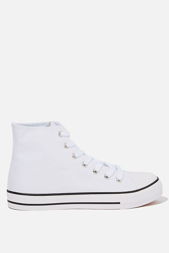 Tyler Hi-Top, WHITE/WHITE