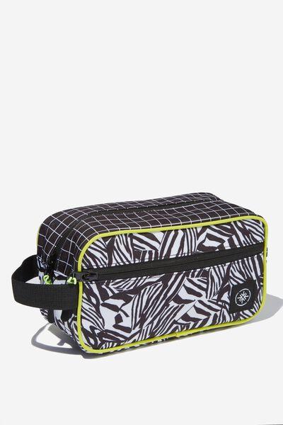 Transit Wash Bag, ABSTRACT ZEBRA