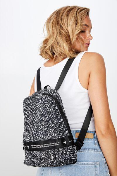 Movement Mini Backpack, BLACK