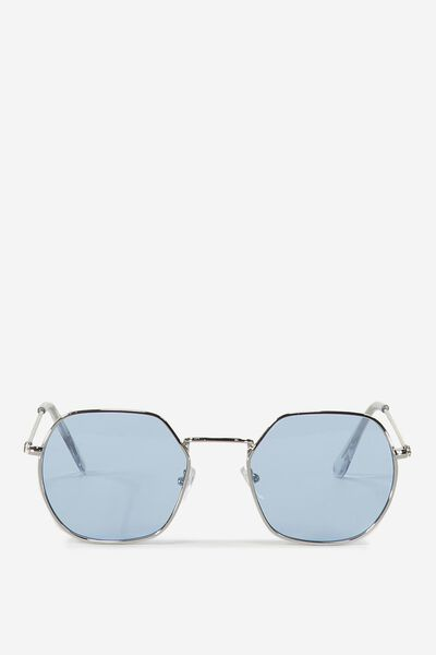 Florida Sunnies, SILVER/BLUE