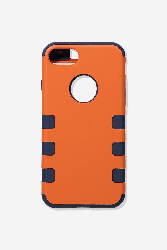 Shockproof Tradie Phone Case Iphone 7/8, ORANGE
