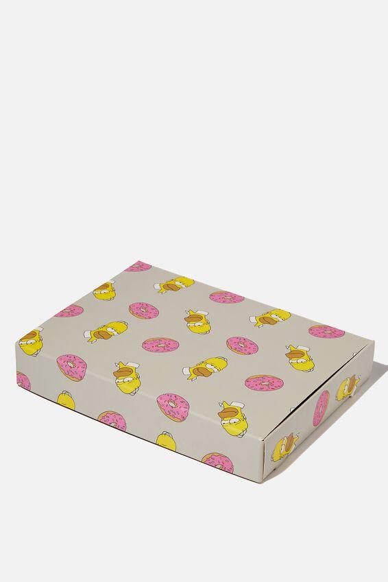 Small Gift Box, LC GREY/HOMER DONUTS