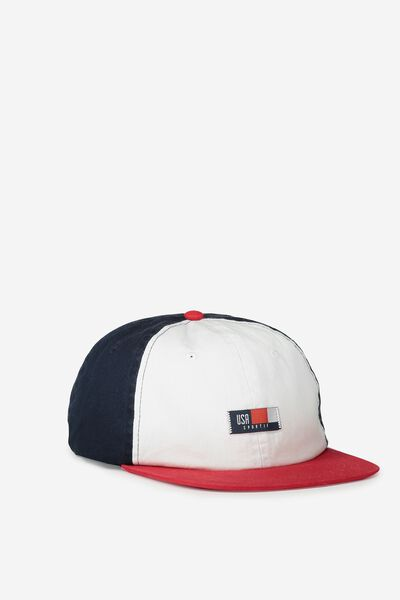 6 Panel Lad Hat, SPORTIF/TRI COLOUR