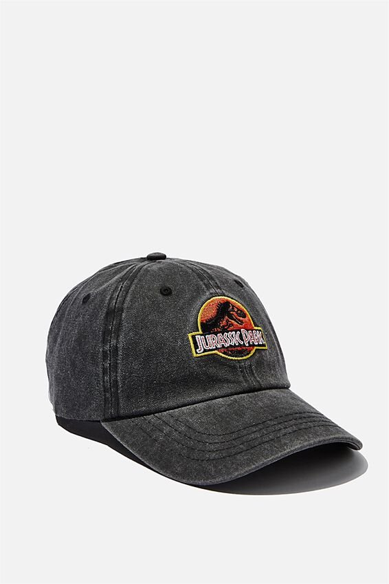 Special Edition Dad Hat, LCN UNI BLACK DENIM/JURASSIC PARK