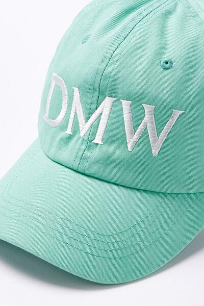 Personalised Classic Cap, AQUA