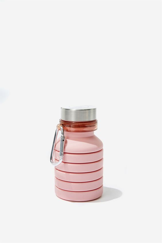 Collapsible Drink Bottle, DUSTY BLUSH