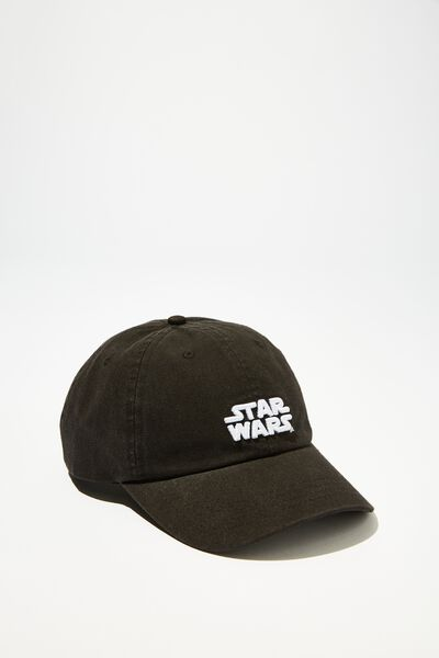 Special Edition Dad Hat, LCN DIS BLACK/STAR WARS LOGO