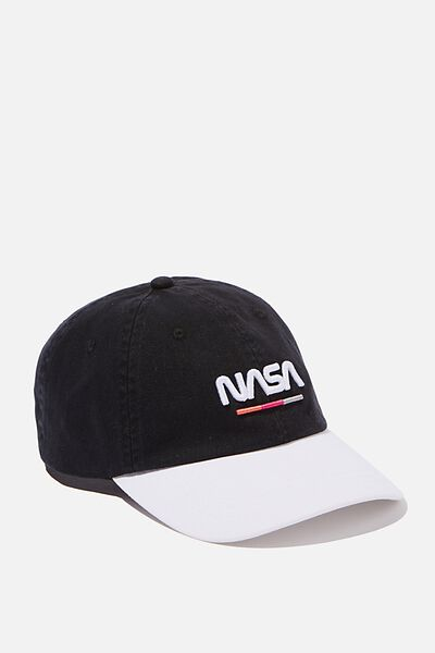 Special Edition Dad Hat, LCN NAS BLACK/WHITE NASA