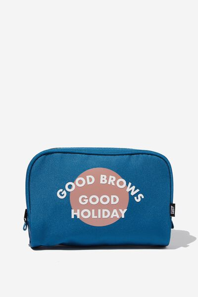 Transit Cos Bag, COLONIAL BLUE/GOOD BROWS