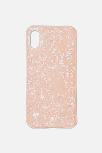Essential Phone Cover Iphone X, PEARL/BLUSH