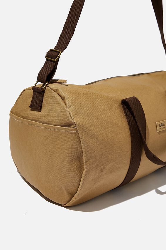 Brunswick Barrel Duffle, TAN