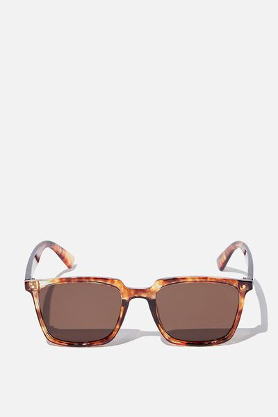 Newtown Sunglasses, AMBER TORT