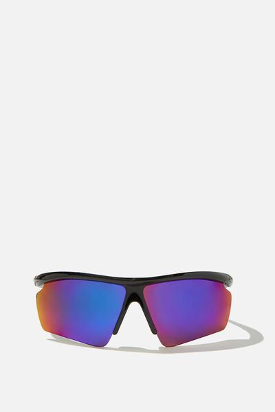 Windsurfer Sunnies, BLACK/PURPLE/SMK BLUE