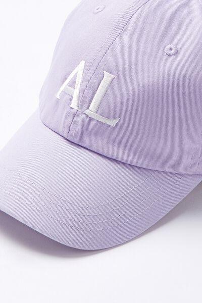 Personalised Classic Cap, LILAC