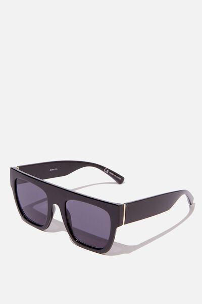 Batesford Sunglasses, BLACK/GOLD/SMOKE