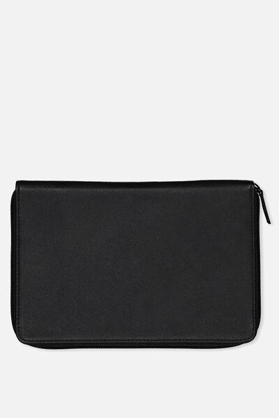 Family Travel Wallet, BLACK