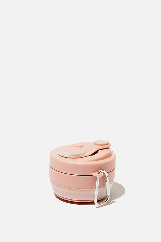 Collapsible Coffee Cup, BLUSH MARBLE