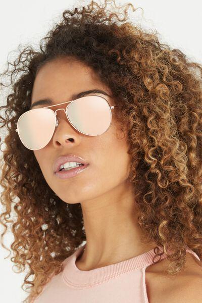 Belle Sunglasses, ROSE/ROSE GOLD