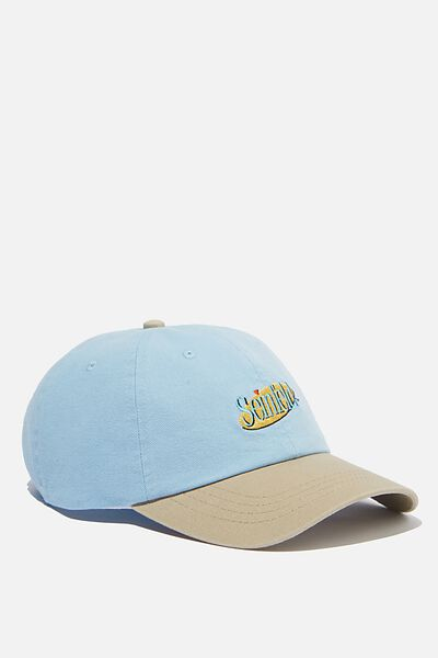 Special Edition Dad Hat, LCN WB PALE BLUE/SAND/SEINFELD