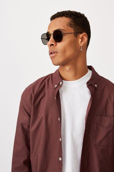 Apollo Sunglasses, MATTE BLACK/SMOKE