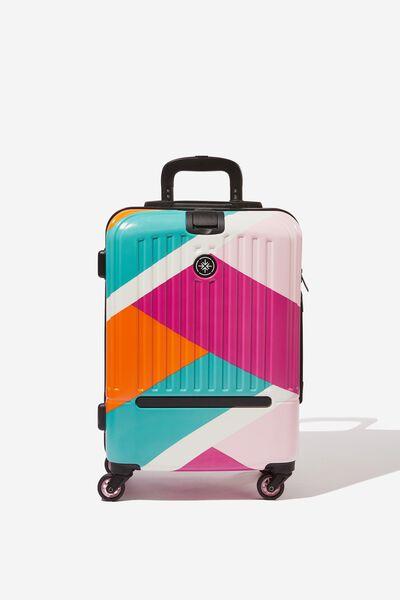 Sml 19Inch Hard Suitcase, GEO