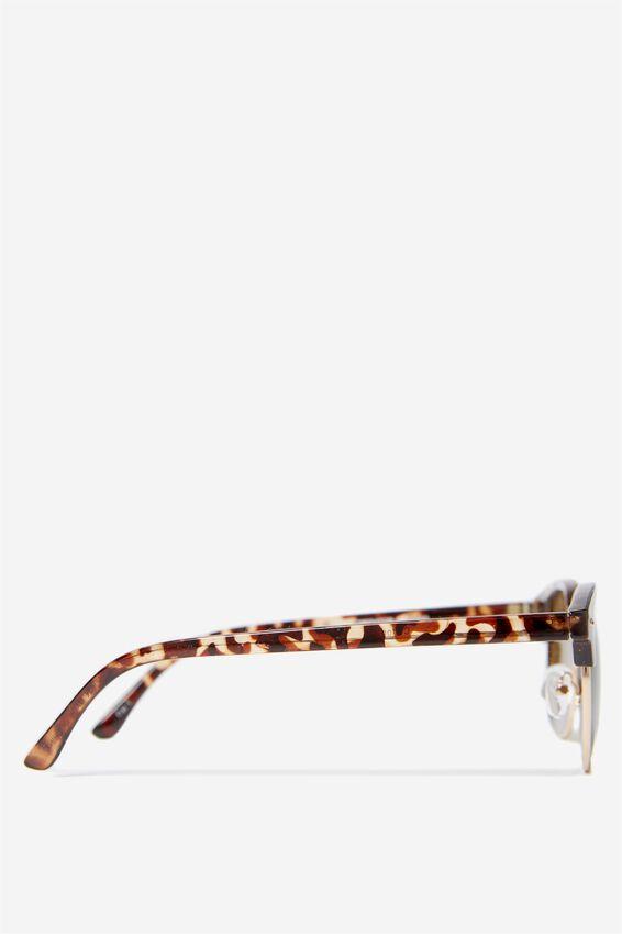 Smooth Operator Sunglasses, TORT GOLD
