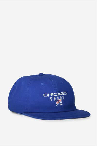6 Panel Lad Hat, CHICAGO/ROYAL BLUE