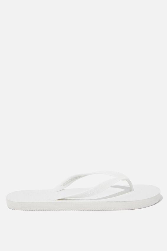 Bondi Flip Flop, WHITE