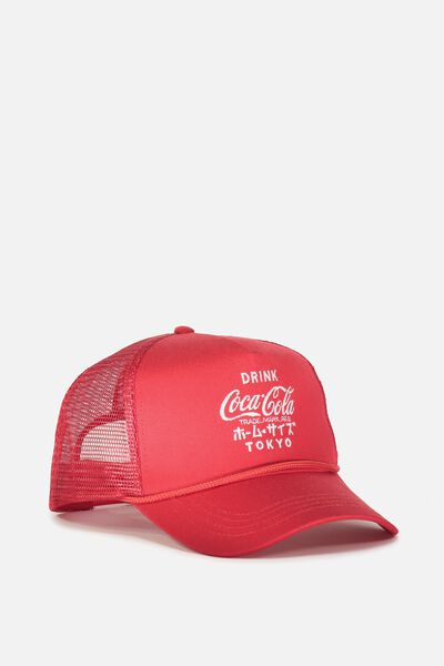 Wicked Print Trucker, LC STRONG RED/COCA COLA
