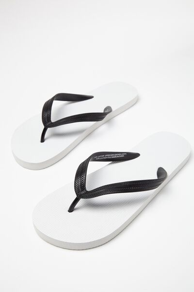 Bondi Flip Flop, WHITE/BLACK