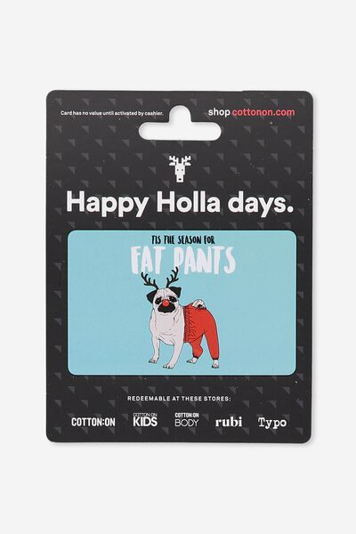 Cotton On & Co $50 Gift Card, Christmas Fat Pants