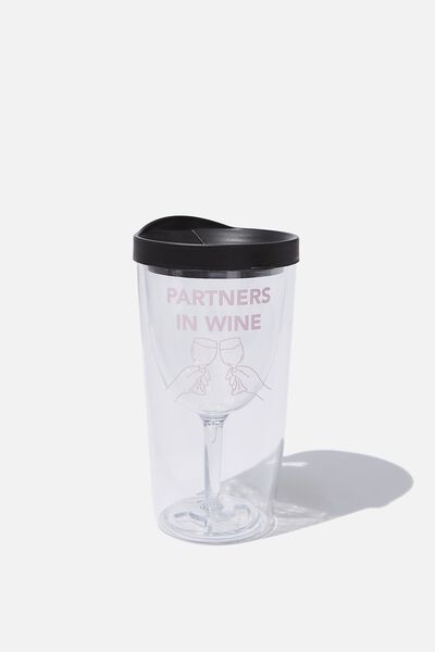 Sippy Wine Cup, PARTNERS IN WINE