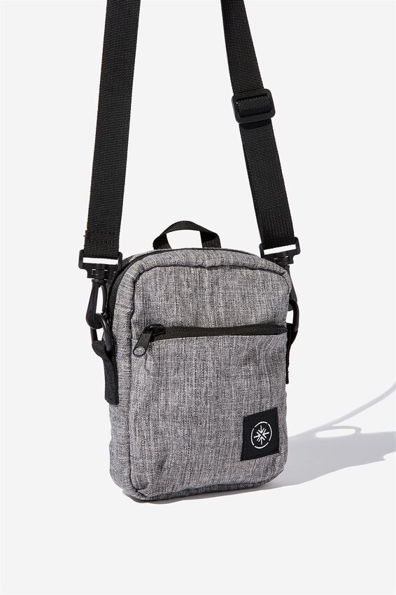 Transit Sling Bag, GREY CROSSHATCH