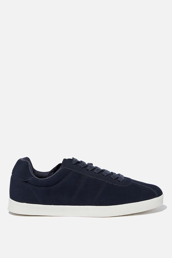 Mateo Retro Trainer, NAVY PU/OFF WHITE