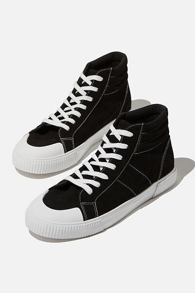Lacca Hi-Top, BLACK FS/WHITE