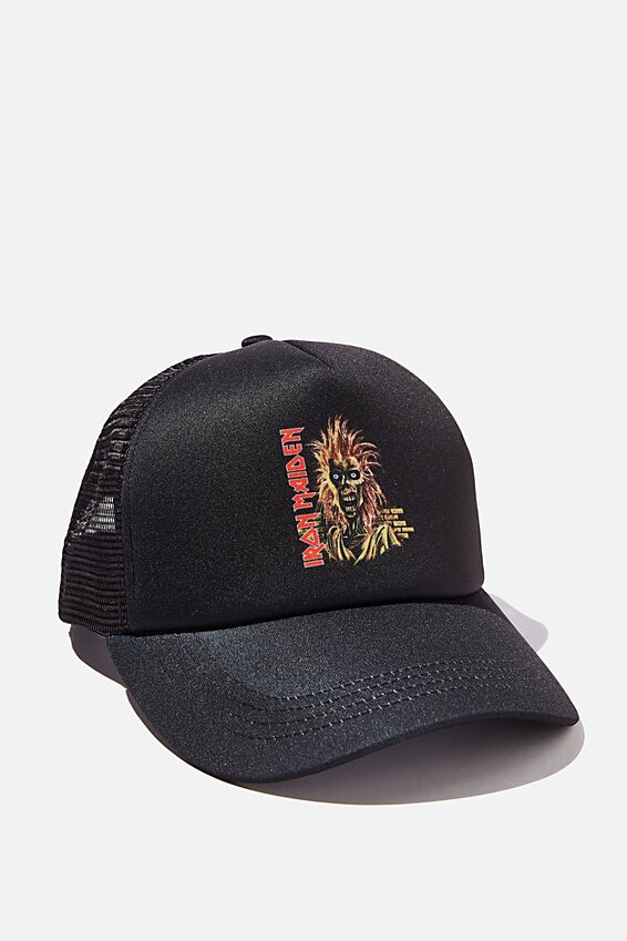 Special Edition Trucker, LCN GM BLACK/IRON MAIDEN