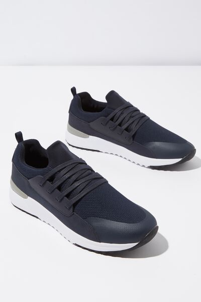 Miro Mesh Trainer, NAVY/WHITE