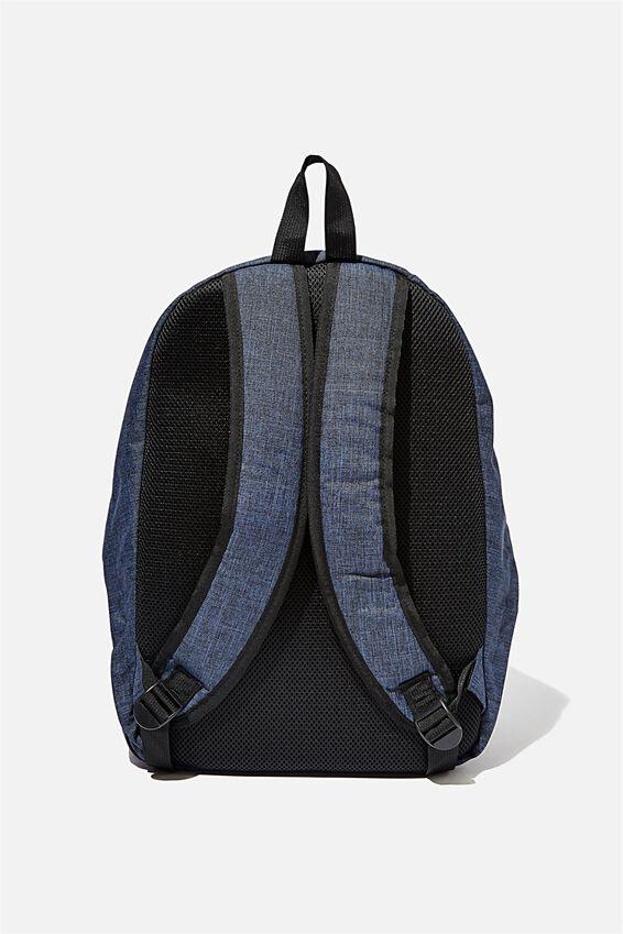 Transit Backpack, NAVY CROSSHATCH