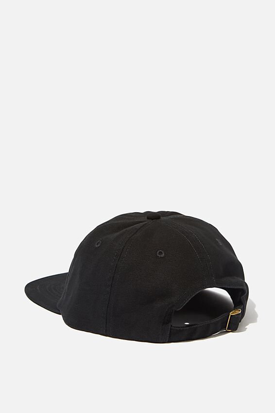 6 Panel Hat, BLACK/CALIGRAPHY A