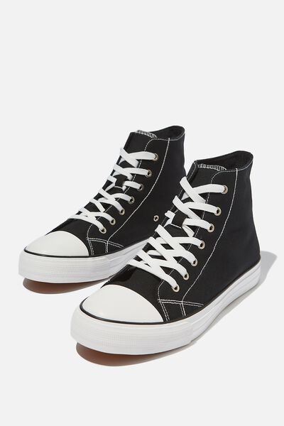 Tyler Hi-Top, BLACK/WHITE