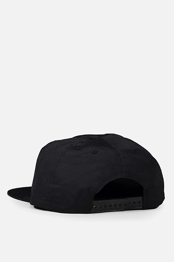 Art Snapback, BLACK/HOOPS NYC
