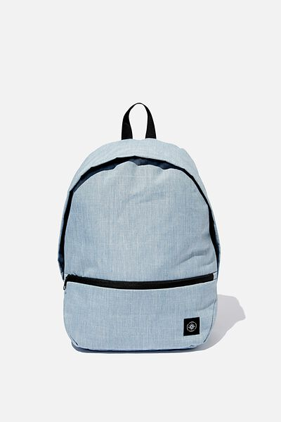 Transit Backpack, CHAMBRAY CROSSHATCH