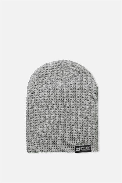 Hopper Beanie Nu, GREY MARLE/BALANCE WORLDWIDE