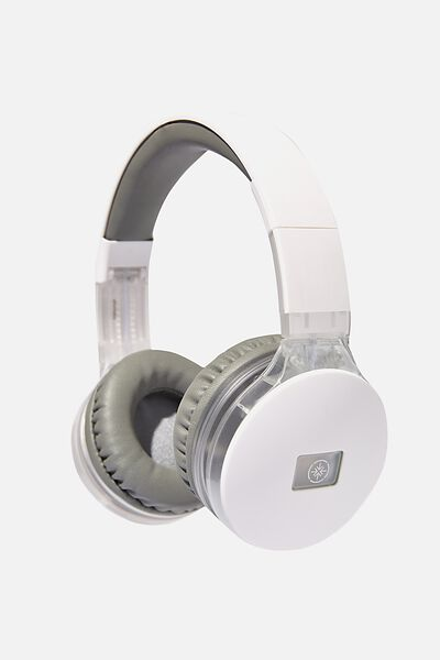 Lost Bluetooth Stereo Headphone, FROSTED CLEAR